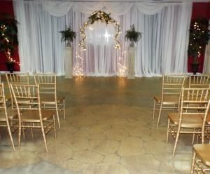 Wedding & Reception, Rose Cottage Event Space, Kennesaw — Inside Ceremony