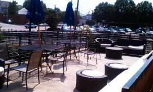 Patio, Union Tavern, Raleigh