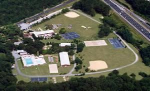 Entire Facility, Oak Tree Lodge, Neptune — Birds-Eye View of our facility