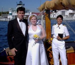 Elopement Package, Selina II Sailing Charters, Saint Michaels