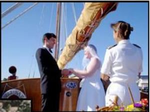 Selina II Weddings, Selina II Sailing Charters, Saint Michaels