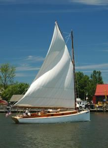 Selina II Sailing Charters, Saint Michaels — Weather permitting we always put up sails, about 1000 square feet, spectacular!