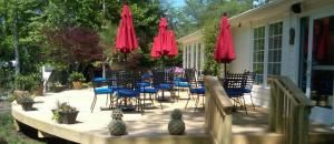 Outside Dining Deck, Brandermill Country Club, Midlothian
