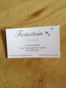 Feinstein Events, Brookline