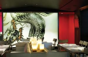 Dragon Room, Katsuya Hollywood, Los Angeles