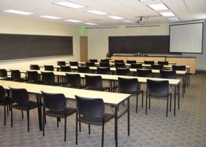 Classrooms, Manchester University, North Manchester — Located in the Academic Center, Science Center, and PERC are 24 rooms that offer a variety of set-up options and can seat up to 50 persons. Ideal rooms for break out sessions, lectures, or workshops.