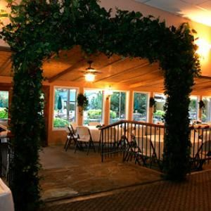 Covered Patio, A & M Gardens, Azle — covered patio