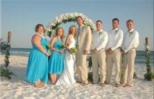 Simply Tropical, Tropical Beach Weddings, Navarre