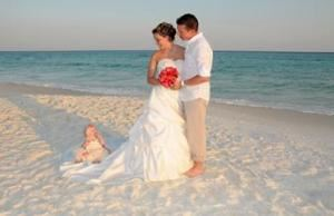 Tropical Paradise, Tropical Beach Weddings, Navarre