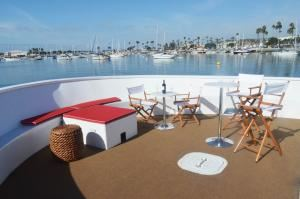 Front Deck, Chere Amie Yacht Charters, San Diego
