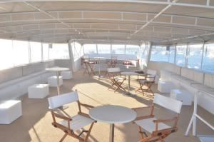 Top Deck, Chere Amie Yacht Charters, San Diego