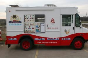 Texas Ice Cream, Southlake — The Texas Ice Cream self-contained ice cream store on wheels.