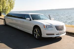 5th hour free, Blessed Limousine And Town Car Service, Seattle — Stretch Chrysler Limo: 10-12-Passenger