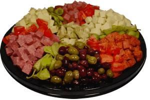 Brennan's Catering & Banquet Center, Cleveland — Antipasto Platter - Perfect for your next gathering at home or work function. Order online at BrennansCatering.com or call us at 216.251.2131.