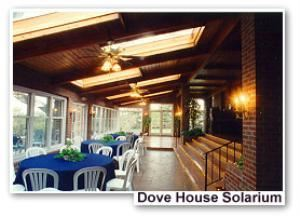 Dove House Solarium, Lionsgate Event Center, Lafayette