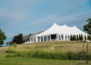 Wedding Tent Package SPECIAL for $995 (A $3500 value), Stone Willow Inn, St Marys
