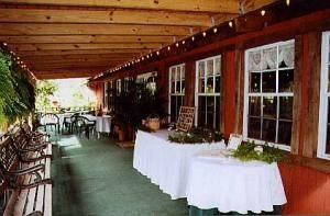 Reception Porch, Oak K Farm, Lakeland