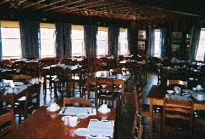 Dining Room, The Driftwood Inn, Bailey Island — Dinning room holds up to 80 people...