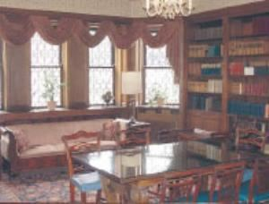 Library, The Perkins Mansion, Rochester