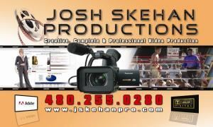 JOSH SKEHAN PRODUCTIONS, Scottsdale — VIDEO PRODUCTION SCOTTSDALE, ARIZONA  -  