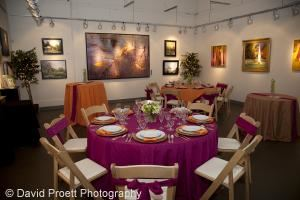 Party/Corporate Function in Gallery 2, Crossroads Art Center, Richmond