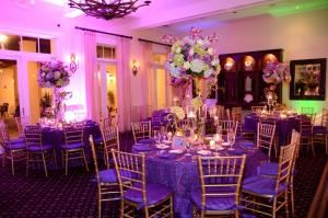 Theme Buffets from $43 per person, Deering Bay Yacht & Country Club, Miami — Our Main Dining Room was converted into this beautiful setup for a Bat Mitzvah.