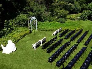 Outdoor Ceremony Site, Manderley On The Green, North Gower