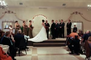 Informal Wedding Ceremony, Northern Lights Ballroom & Banquet Center, Inc., Milaca