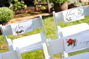 Garden, Main Street Manor Bed & Breakfast Inn, Flemington — Our boxwood and rose garden is a perfect location for your intimate outdoor wedding ceremony...