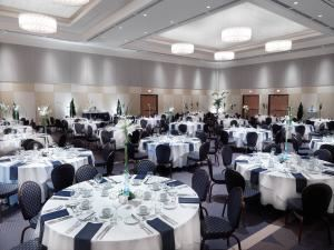 Ballroom, Vancouver Island Conference Centre, Nanaimo — Mount Benson Ballroom perfect for events requiring elegance with exceptional quality service.
