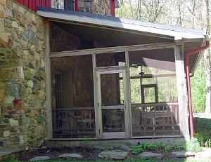 Screened Porch, ThorpeWood, Frederick — Screened Porch