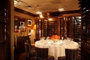 Match Room, Aretsky's Patroon, New York — Our Match Room, which is located on the second floor, would be perfect for this event. It can accommodate up to 12 guests at one round table.