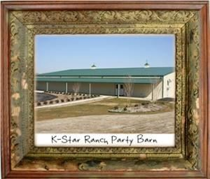 Party Barn, K Star Ranch, Mansfield