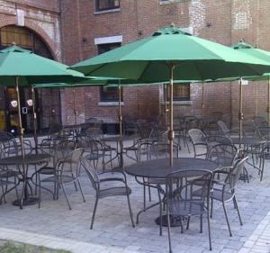 Outdoor Patio, Davinci's Eatery, Lewiston