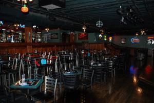Meeting Room, Howl At The Moon, Baltimore — Howl at the Moon is the perfect alternative for semi-private and private events. With two fully stocked bars, seating capacity of 160 and a maximum occupancy of 355, Howl at the Moon is Baltimore's premier meeting space. Available 7 days a week.