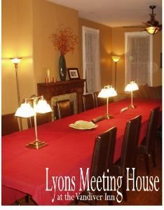 The Lyons Meeting House, Vandiver Inn, Havre de Grace