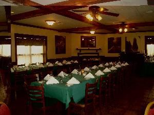 Washington Room, Brock's Riverside Grill, Fredericksburg