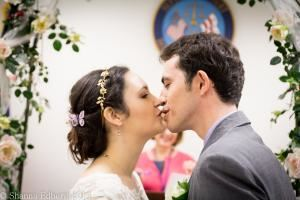 The Elopement Package, Shanna Edberg Photography, Silver Spring — Courthouse kiss