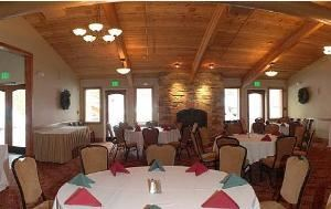 Private Dining Area, Seventh Mountain Resort, Bend
