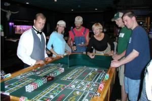 Casino Nights of Tulsa, Tulsa — We bring the casino to your party.  We bring blackjack, craps, roulette, plinko and the wheel of fortune to your party.  We provide dealers and everything you will need to have a great casino party.