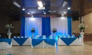 Large Hall Rental, Pioneer Event Center, Grand Prairie — Elegant decor for any occassion
