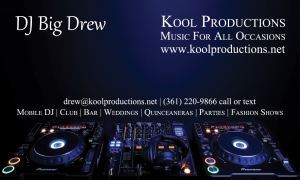 Dj Big Drew | Kool Productions