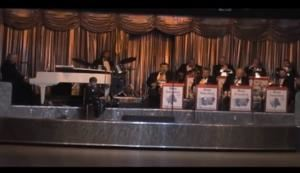 "The Ron Smolen Big Band / Orchestra - Marion, Marion — "" The Ron Smolen Big Band / Orchestra "" featuring Vocalist Sally Kokos  *  Willowbrook Ballroom  *  Willow Springs, Illinois"