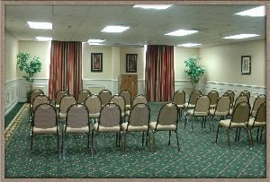 Conference / Banquet Room, WyteStone Suites of Fredericksburg, Fredericksburg — Great for Corporate, Conferences, Receptions, or Sit down Dinners. Can bring in platters or have catered. 50 person occupancy &  date based upon availability. Many different style set-ups available.