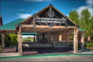 The Backroom At David's Grill, Red Hawk Golf And Resort, Sparks