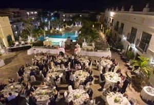 The Inn on Fifth, Naples — Dream weddings are help on the rooftop courtyard. Sunset guaranteed.