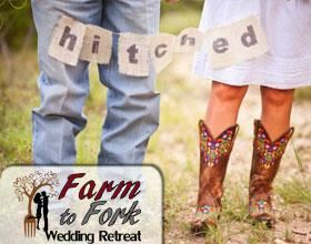 Just Hitched Elopement! Limited Time 50% Off, Organic Farm to Fork Wedding Retreat - Specialize in Small Weddings -, Mondovi