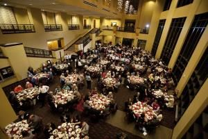 Clayton Center for the Arts, Maryville — Banquets and other events at Grand Foyer