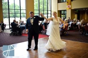 William Baxter Lee III, Grand Foyer, Clayton Center for the Arts, Maryville — Wedding at Grand Foyer