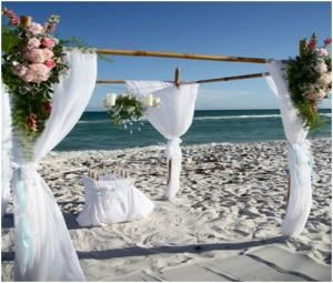 Wedding Ceremony, Emerald Beach Weddings & Events, Navarre